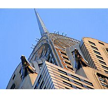 Under the Chrysler Building Photographic Print