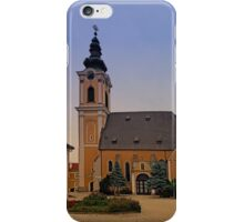 The village church of Scharten III | architectural photography iPhone Case/Skin