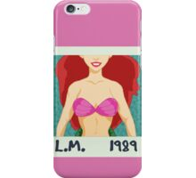 L.M. 1989 iPhone Case/Skin