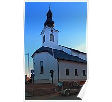The village church of Lembach / Mkr I   architectural photography Poster