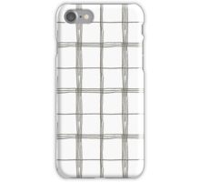 Imperfect lines iPhone Case/Skin