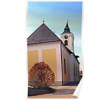 The village church of Putzleinsdorf I   architectural photography Poster