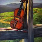 Violin by Randy  Burns