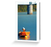 Boat on the river | landscape photography Greeting Card