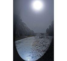Soft Moon Shinning. Photographic Print