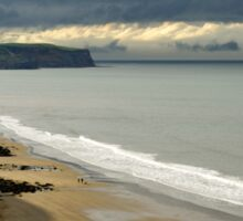 The North Yorkshire Coast, After A Storm Sticker