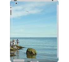 Rock Pool Fishing, Runswick Bay iPad Case/Skin