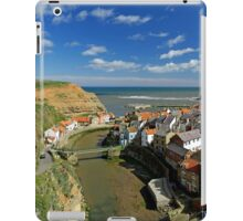 The Seaside Village of Staithes iPad Case/Skin