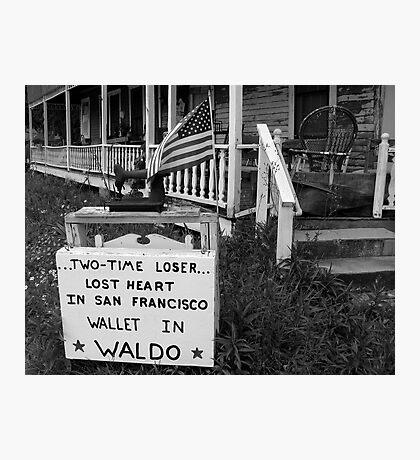 Waldo, Florida Photographic Print