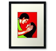 BE MY VALENTINE Framed Print