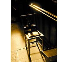 The Chair Photographic Print