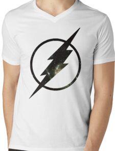 Galaxy - Flash Mens V-Neck T-Shirt