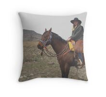 some of the best cowboys are cowgirls Throw Pillow