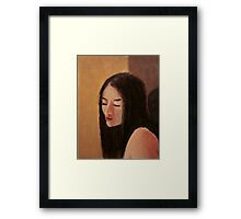 Girl 2 Framed Print