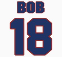 National football player Bob Timberlake jersey 18 by imsport