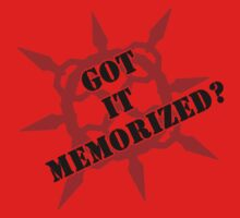 Got it memorized? One Piece - Short Sleeve