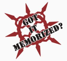Got it memorized? Kids Tee