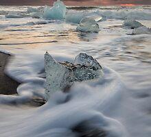 Iceland - Jökulsárlón Glacier Lagoon by Royston Palmer