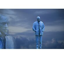BLUE BOY Photographic Print