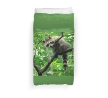 Yeah, I'm just hangin' out. Whatchu doin'? Duvet Cover