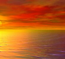 Sunset At The End Of The World by FireLilyAMG