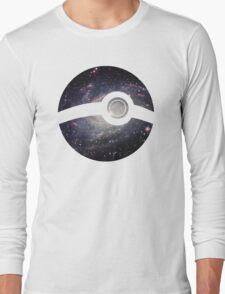 Galaxy - Pokeball Long Sleeve T-Shirt