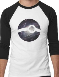 Galaxy - Pokeball Men's Baseball ¾ T-Shirt