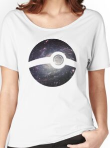 Galaxy - Pokeball Women's Relaxed Fit T-Shirt