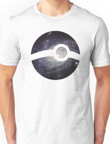 Galaxy - Pokeball Unisex T-Shirt