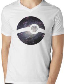 Galaxy - Pokeball Mens V-Neck T-Shirt