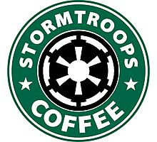 Stormtroops Coffee Photographic Print
