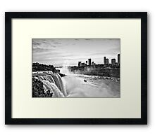 Maid In The Mist Framed Print