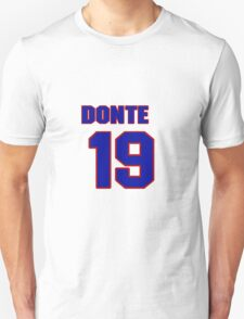 National football player Donte' Stallworth jersey 19 T-Shirt