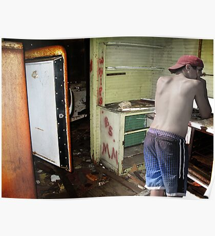 Kitchen Disasters Poster
