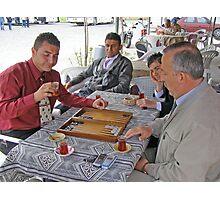 Tavla (Turkish Backgammon) Photographic Print