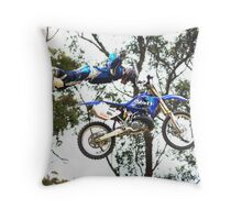 Pete Anderson - Bar Solid Throw Pillow