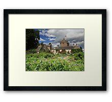 Cawdor Castle and Garden Framed Print