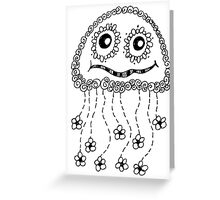 My Name is Miss Ginger Greeting Card