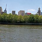Melbourne: Taken from Southbank by Colin  Ewington
