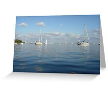 the Moorings Greeting Card