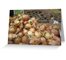 Spuds & Onions Greeting Card