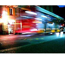 Autobus Photographic Print