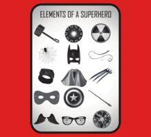Elements of a Superhero  Kids Clothes