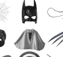 Elements of a Superhero  Sticker