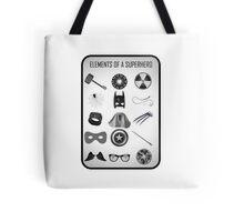 Elements of a Superhero  Tote Bag