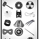 Elements of a Superhero  by MrPeterRossiter