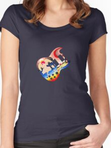 Body Art:  Clapton Women's Fitted Scoop T-Shirt