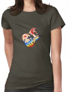 Body Art:  Clapton Womens Fitted T-Shirt