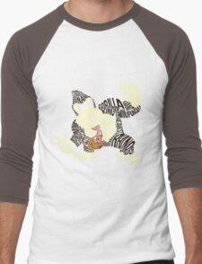 Kongigram Men's Baseball ¾ T-Shirt