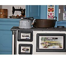 Vintage Kitchen Photographic Print
